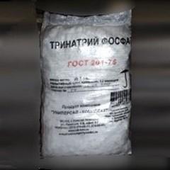 Тринатрий фосфат в мешках по 25 кг